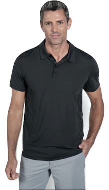 BloqUV Men's UPF 50+ UV Sun Protection Short Sleeve Active Polo Shirt