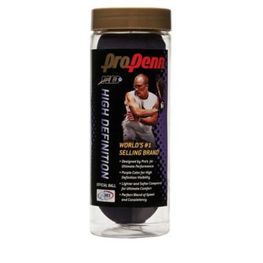 Racquetballs - Pro Penn High Definition, 1 Can Quantity