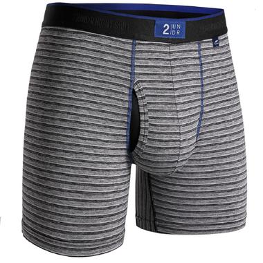 """2UNDR Mens Night Shift 6"""" Boxer Brief Underwear"""