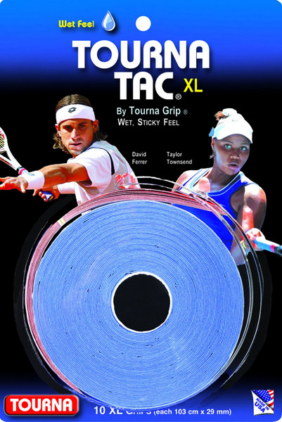 Unique Tourna Tac, Tacky Feel Tennis Grip (10/Roll Pack)
