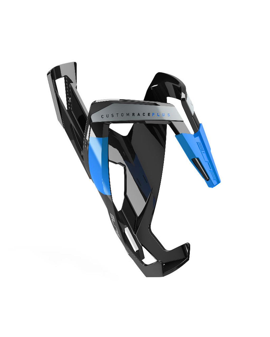 Elite Vico Carbon Bottle Cage Gloss Black//White