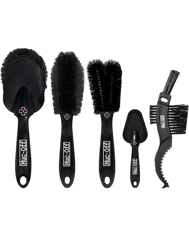 Muc-Off 5x Premium Cleaning Brush Set
