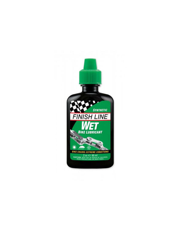 Finish Line Wet Bike Chain Lubricant