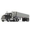 First Gear Kenworth T880 Black w/Genesis End Dump 1/50 50-3452