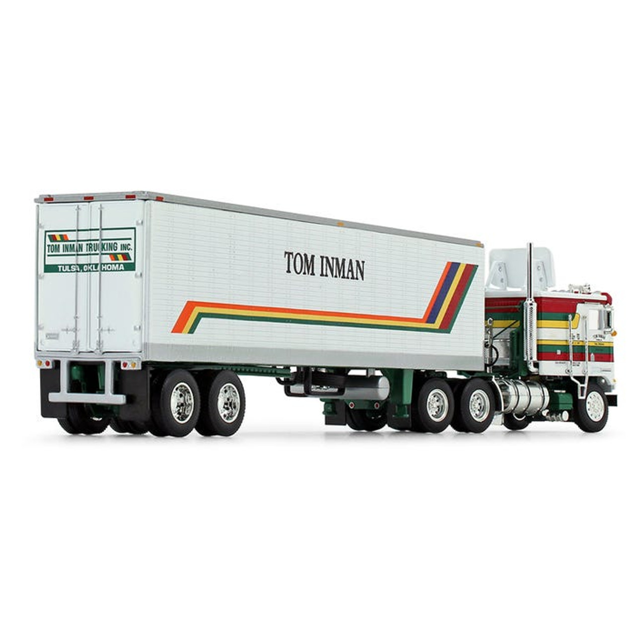 DCP Kenworth K100 COE Flat Top Refrigerated Trailer 60-0847