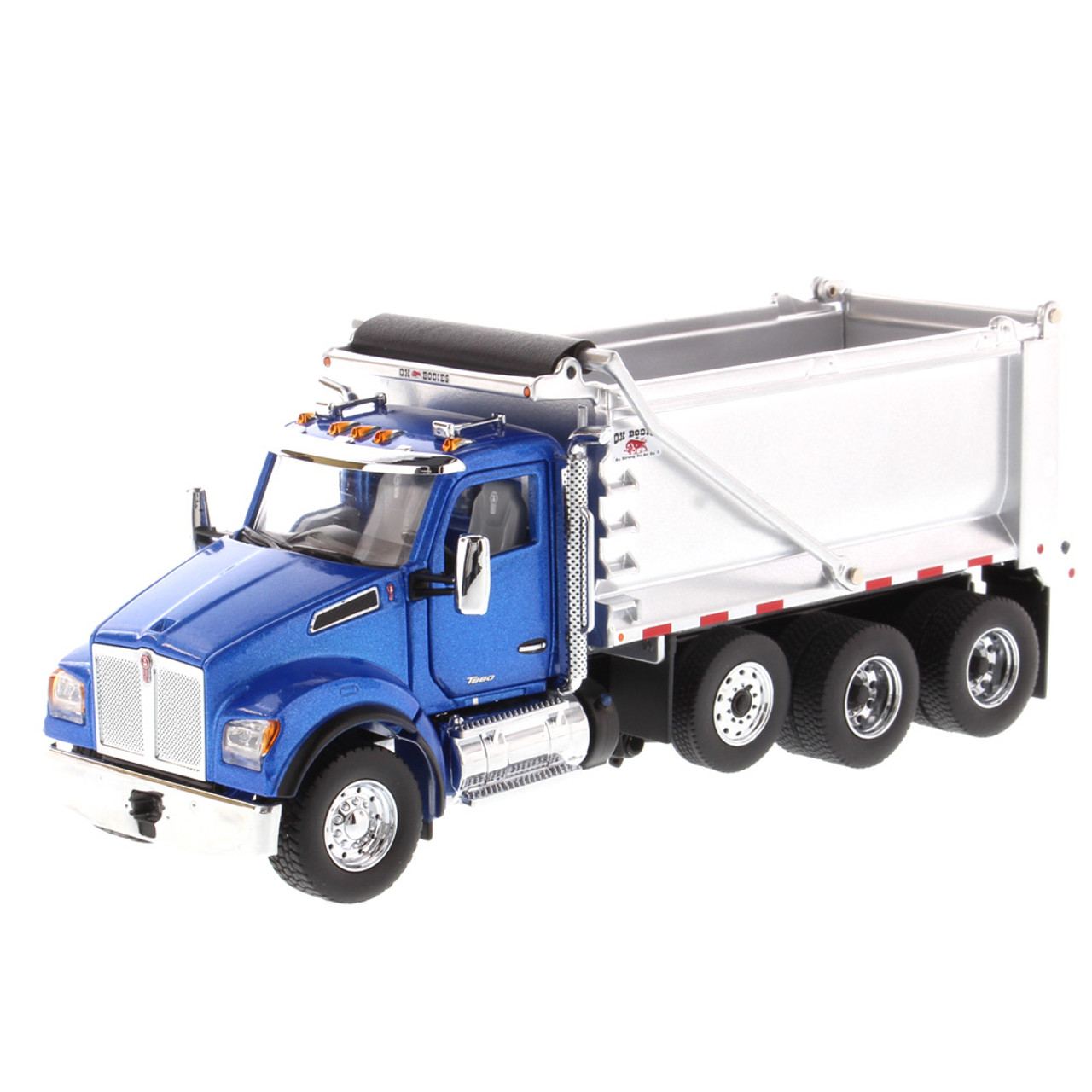 Diecast Masters Kenworth T880S SFFA Tandem with Pusher Axle 1:50 71078