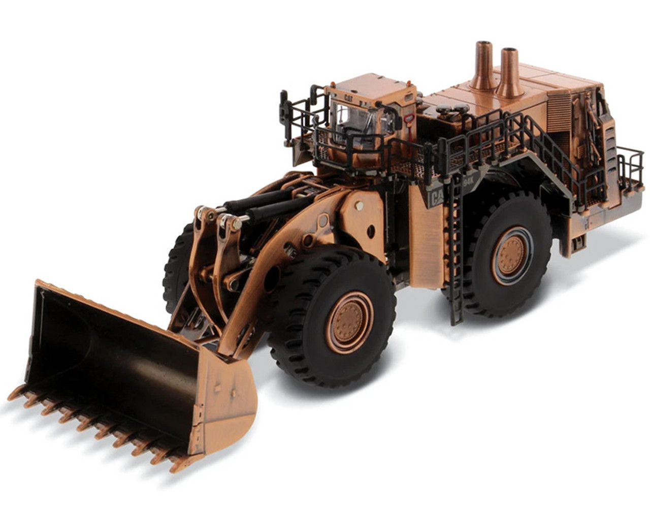 Diecast Masters Caterpillar 994K Wheel Loader with Copper Finish1/125 85672