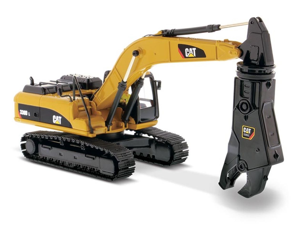 Diecast Masters Caterpillar 330D L Hydraulic Excavator with Shear 1/50