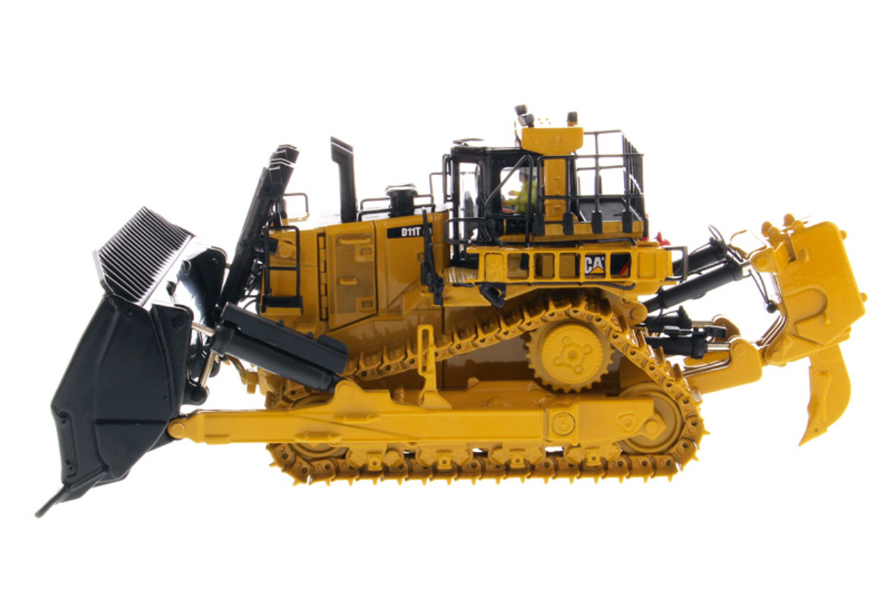 Diecast Masters Caterpillar D11T CD Carrydozer with Operator High Line Series 1/50 Diecast Model 85567