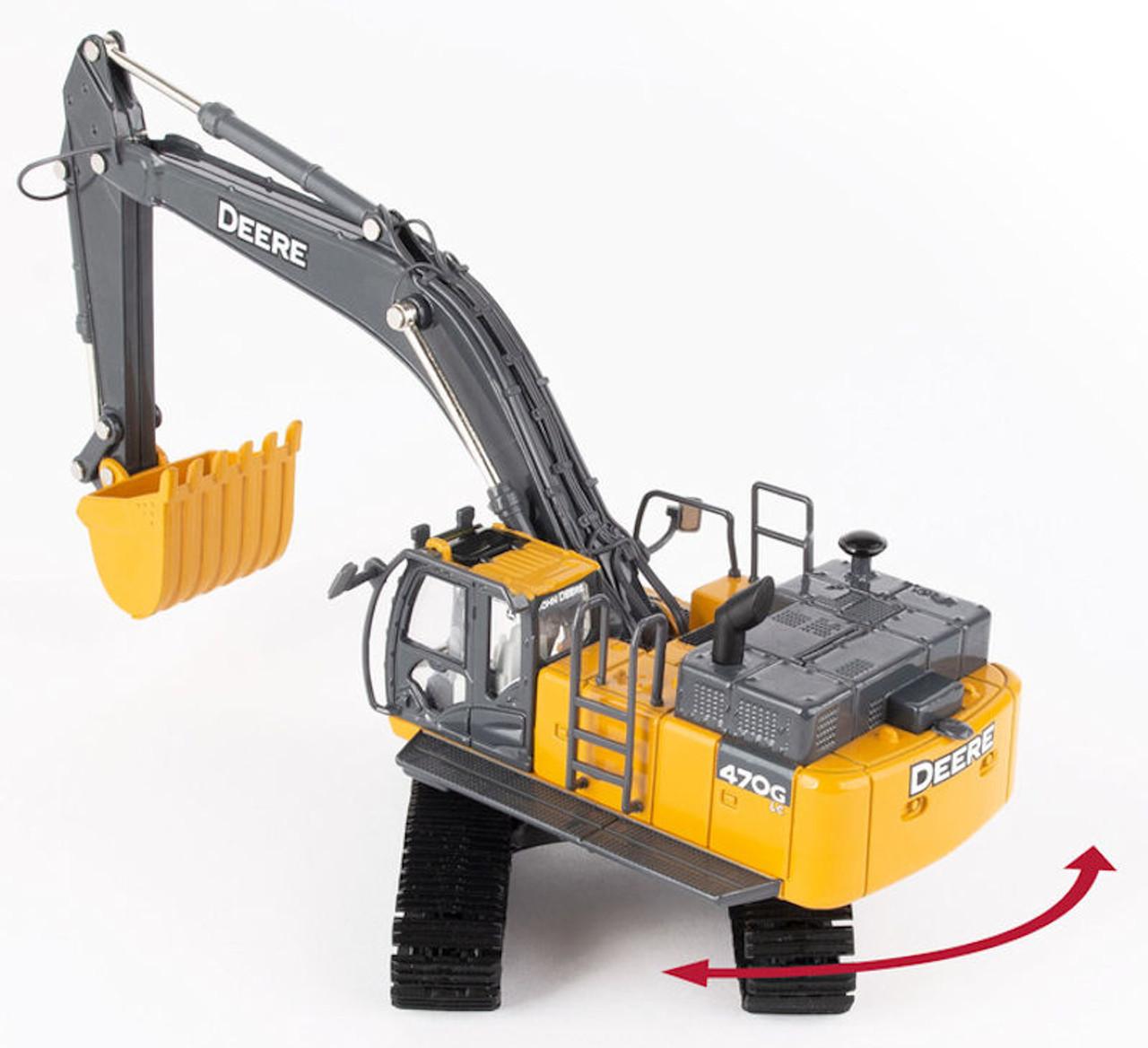 ERTL John Deere 470 GLC Excavator TBE45335 1/50 Scale