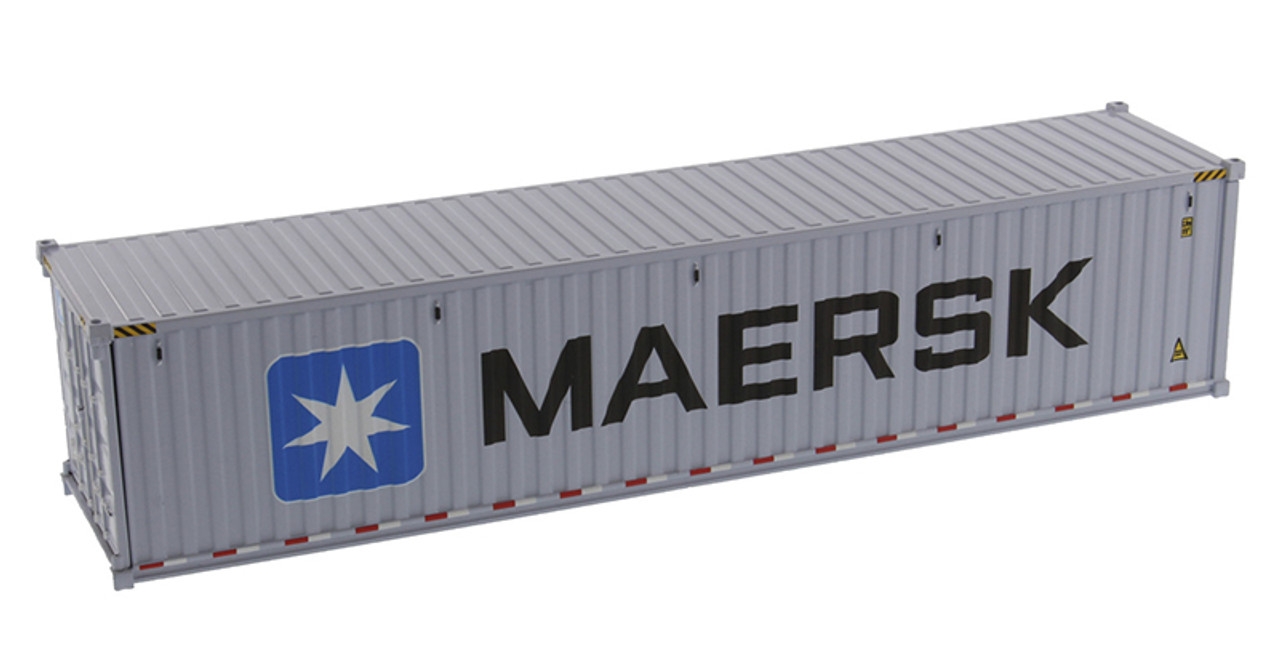 Diecast Masters MAERSK - 40' Dry Goods Shipping Container 1/50 91027E