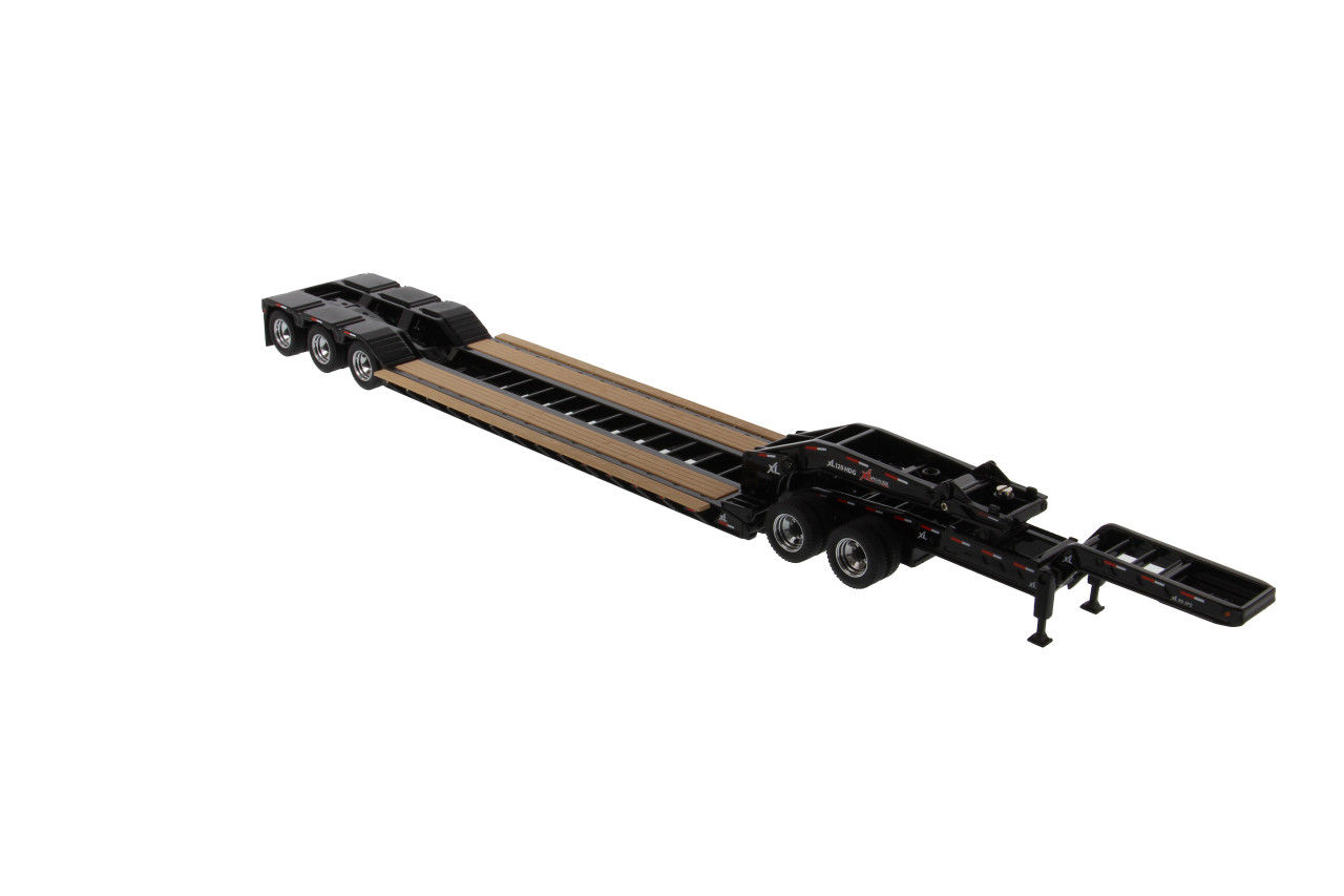 Diecast Masters XL 120 Low-Profile HDG Lowboy Trailer W/2 Boosters & Jeep 1/50
