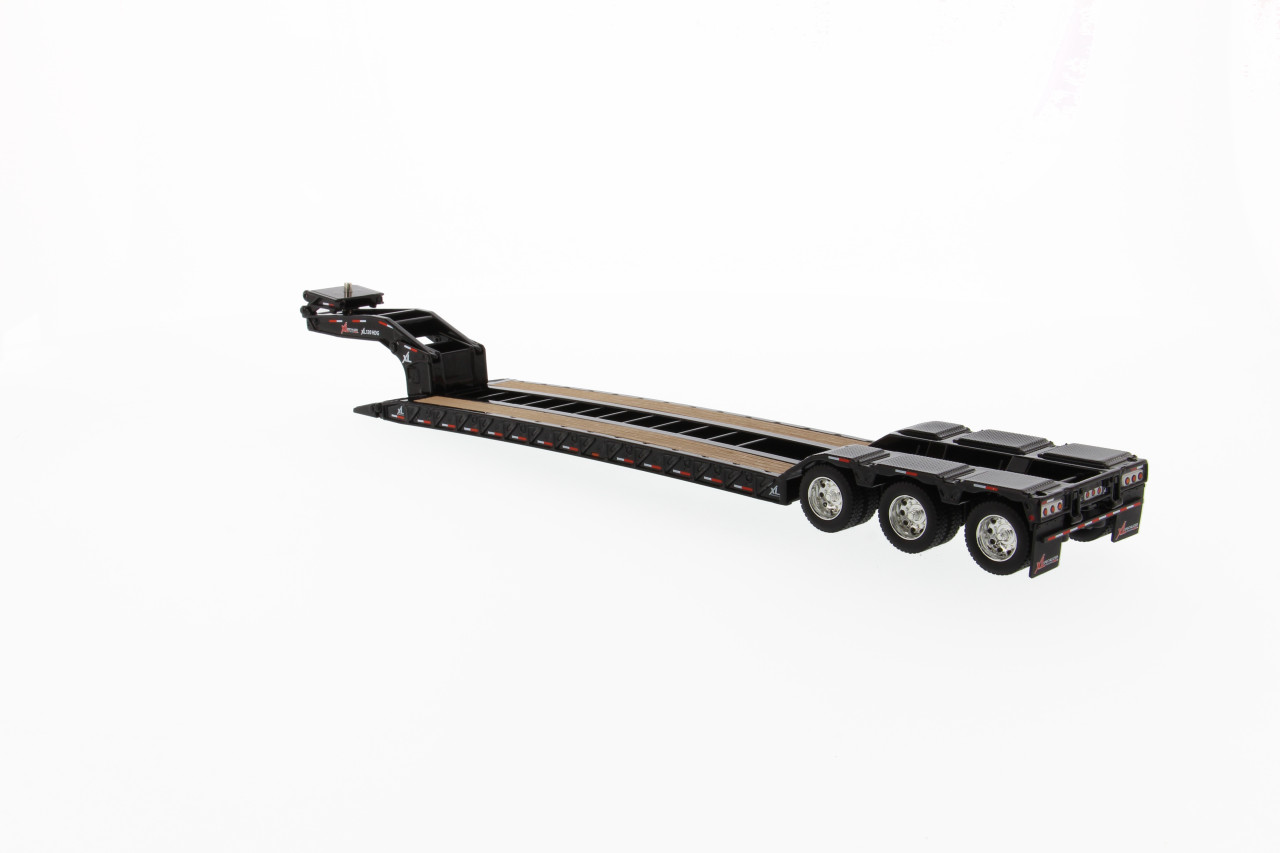 Diecast Masters XL 120 Low-Profile HDG Lowboy Trailer with 2 Boosters 1/50