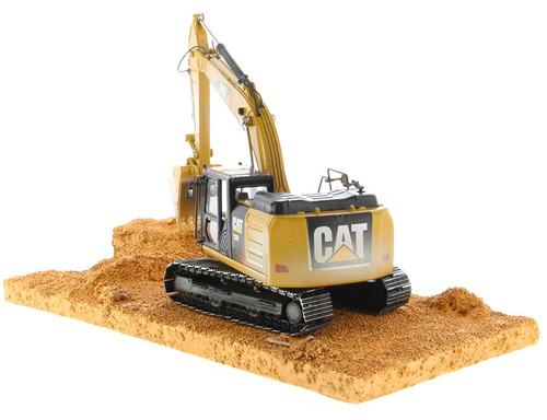 Pre Order Diecast Masters Caterpillar 320F Tracked Excavator Weathering Series 1/50 Scale 85701