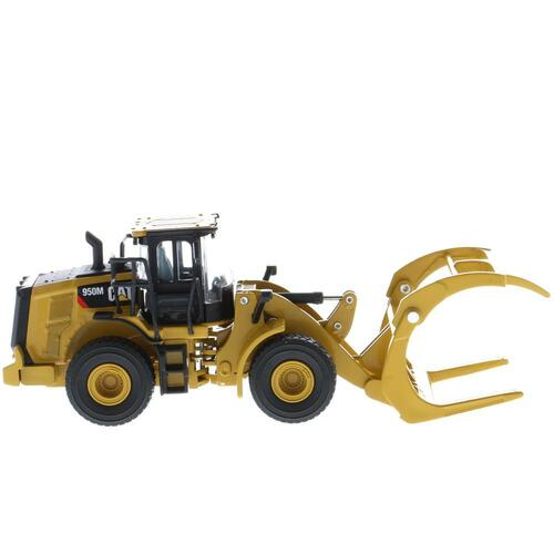 *Pre-Order* Diecast Masters Caterpillar 50M Wheel Loader with Log Fork + Bucket Attachment (Comes with 2 Log Poles) 1/64 Scale 85635
