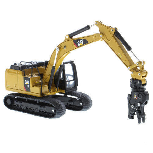 *Pre-Order* Diecast Masters Caterpillar Cat 320F L Hydraulic Excavator with 5 New Work Tools 1/64 Scale 85636