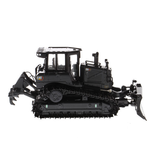 *Pre-Order* Diecast Masters Caterpillar Cat D6 XE LGP Track Type Tractor with VPAT Blade _Special Black/Gray 175K Edition 1:50 Scale 85705