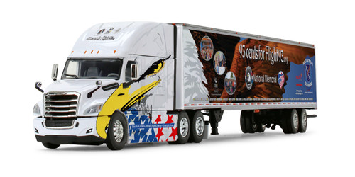 *Pre-Order* First Gear Freightliner 2018 Cascadia High Roof Sleeper with 53' Utility Trailer  1/64 Scale 60-1178