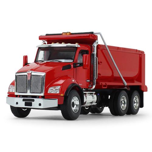 *Pre-Order* First Gear Kenworth T880 Dump Truck Viper Red