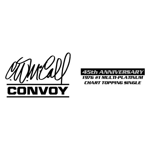 """*Pre-Order* Mack R with 60"""" Flat Top Sleeper & Tank Trailer R.D. Trucking – Convoy by C.W. McCall 45th Anniversary 1:64 Scale 60-1125"""