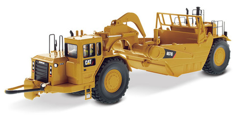 Diecast Masters Caterpillar 657 G Wheel Tractor Scraper 1/50 85175