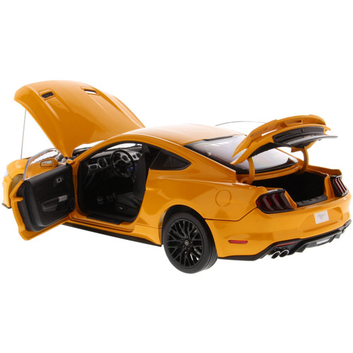 2019 Ford Mustang GT - orange 1:18 Scale Diecast Model by Diecast Masters