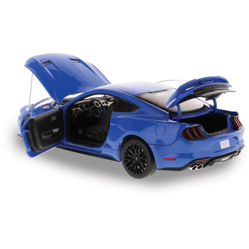 2019 Ford Mustang GT - blue 1:18 Scale Diecast Model by Diecast Masters