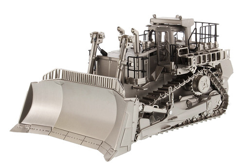 Diecast Masters Caterpillar D11T Track Dozer - Matte Silver Plated 1/50