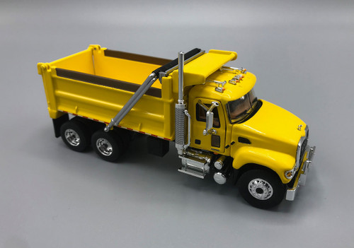 FG First Gear Mack Granite Dump Truck Yellow 1/64 Scale 60-0391