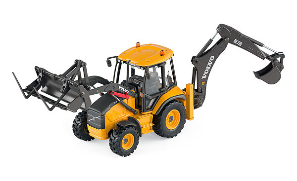 Motorart  Volvo BL71B Backhoe Loader 1/50 Scale  MA - 300034
