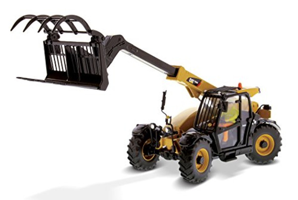 Diecast Masters Caterpillar TH407C Telehandler with Attachments 1/32