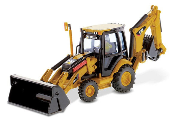 Diecast Masters Caterpillar 420E Backhoe Loader 1/50