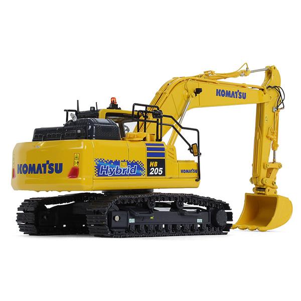First Gear Komatsu HB205LC-3 Hybrid Excavator 1/50 Scale 50-3399