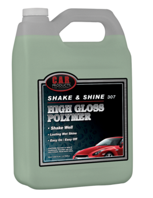 C.A.R. Products® - Shake & Shine High Gloss Polymer - 1 Gallon