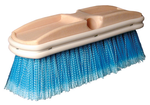 SM Arnold - Medium Bristle Wash Deck Brush (Blue) 8""