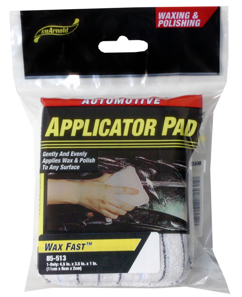 SM Arnold - Wax Applicator Pad (Cotton/Polyester Knit)
