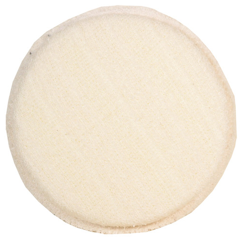 SM Arnold - Wax Applicator Pad (Cotton/Polyester Knit) Round 4.5""
