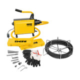 Rems 172010 Cobra 22 Set 16 Electric Pipe & Drain Cleaner