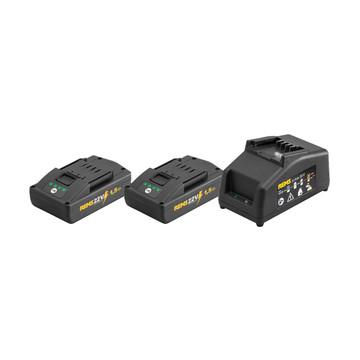 Rems 571589 21.6v Power Pack (2x1.5Ah)