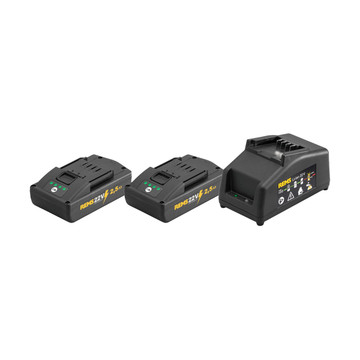 Rems 571590 21.6v Power Pack (2x2.5Ah)