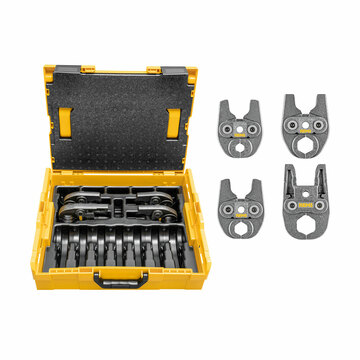 REMS 578058 Mini Tong Set V15-22-28-35 L-Boxx