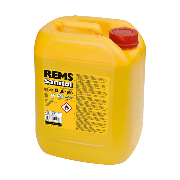 Rems 140110 Sanitol Thread Cutting Oil (5 Litre)