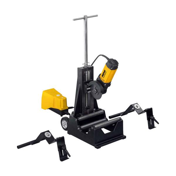 Rems 845X03 DueCento Pipe Cutting Machine + 3 Wheels (240v)