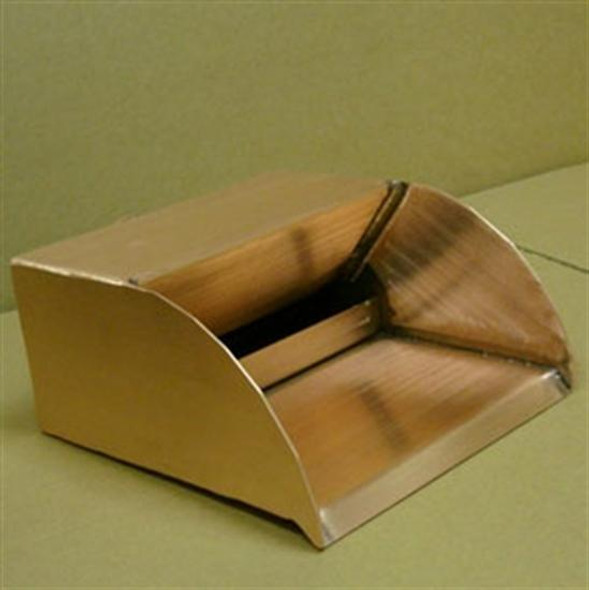 "Bobe Design Series 6"" Radius Copper Scupper"