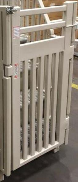 Confer Plastics 5-Step Pool Entry System Gate (Gate Only) - PES-G-X