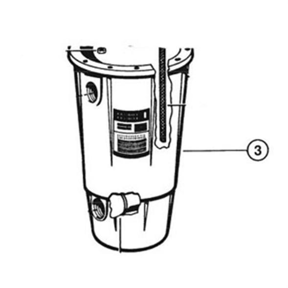 Hayward Filter Body - ECX5000AP