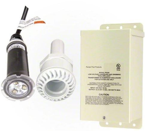Pentair GloBrite LED Light 100 ft. Cord 1 Fiberglass Niche Combo - 620051