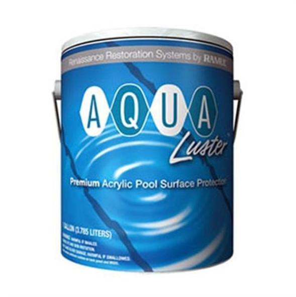 Ramuc AquaLuster Dawn Blue Acrylic Pool Coating Paint - 5 Gallon