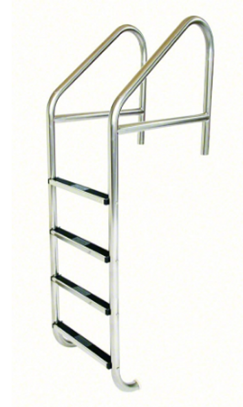 "S.R. Smith 23"" Standard Crossbrace Plus SS 4 Step Ladder .109"" Wall - SRS10116"