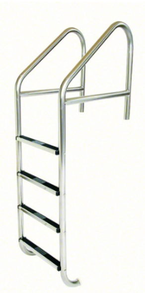 "S.R. Smith 23"" Standard Crossbrace Plus SS 4 Step Ladder .065"" Wall - 10115"